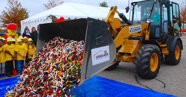 Legoland Michigan groundbreaking image